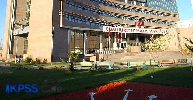 CHP'de ön seçim hazırlığı