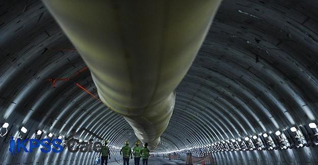 Avrasya Tüneli'nde kazı çalışmaları tamamlanıyor