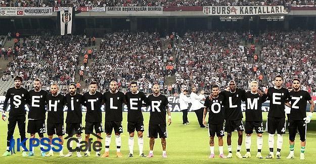 Beşiktaş'tan şehitlere vefa