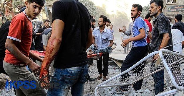 Esed güçleri Doğu Guta'da sivilleri vurdu