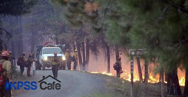 ABD'deki orman yangınlarında binlerce kişi tahliye edildi