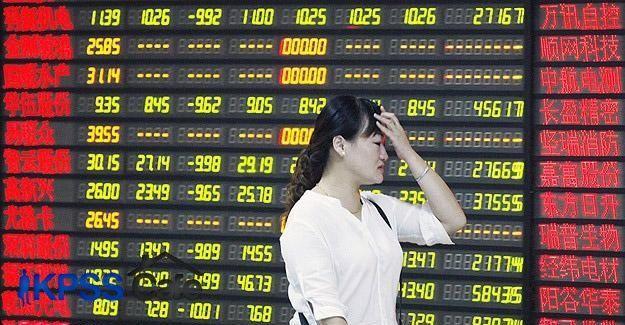 Çin borsası yüzde 8,5 değer kaybetti