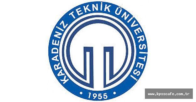 Karadeniz Teknik Üniversitesi Öğretim Elemanı Alacak