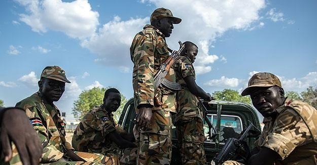 'Güney Sudan'da İsrail silahları kullanıldı'