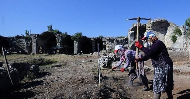 Selçuklu mirası Evdirhan kazılarında kadın eli