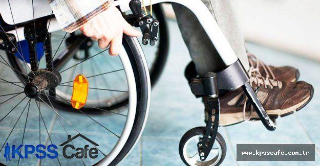 EKPSS ile Kamuda istihdam edilecek engelli sayısının arttırılması teklif edildi