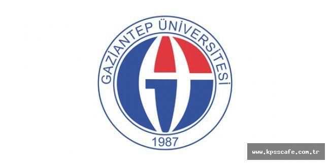 Gaziantep Üniversitesi Öğretim Üyesi Alacak