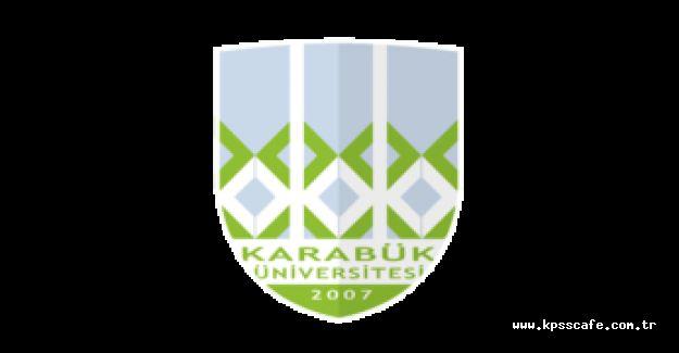 Karabük Üniversitesi Memur Alacak