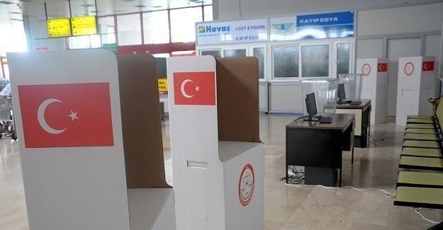Gümrük kapılarında oy verme işlemi 8 Ekim'de başlayacak