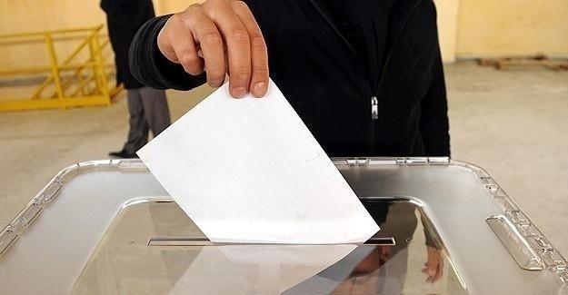 Seçmen listelerine kayıt için son gün 10 Eylül