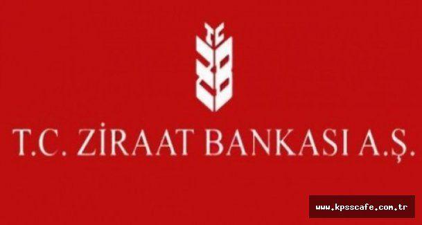Ziraat Katılım Bankası 2015 Memur Alımı
