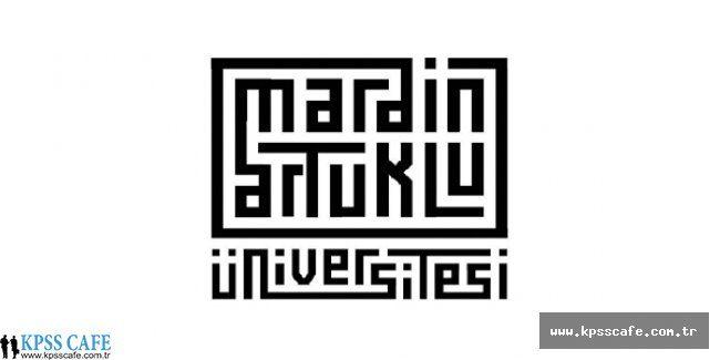 Mardin Artuklu Üniversitesi Öğretim Üyesi Alacak
