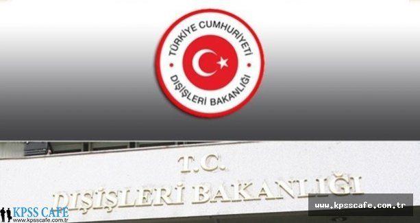 Dışişleri Bakanlığı Cidde Başkonsolosluğu Sözleşmeli Sekreter alacak