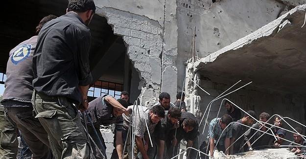 Esed güçleri sivilleri vurdu