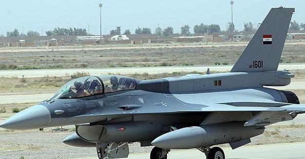 Irak DAEŞ ile mücadelede F-16'larını kullandı