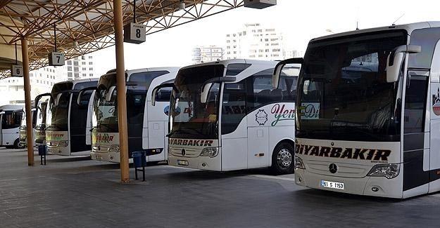 Otobüs firmalarından sefer iptalleri