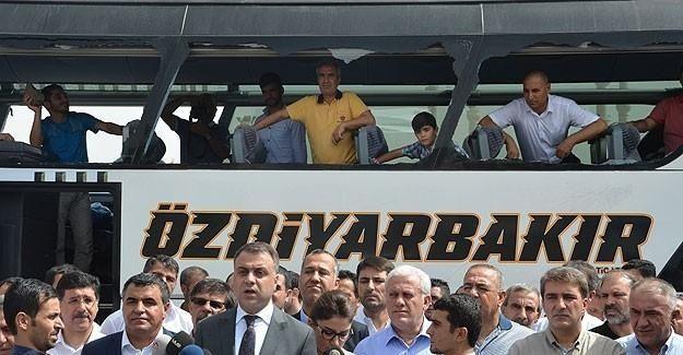 Diyarbakır'da iş camiasından sağduyu çağrısı