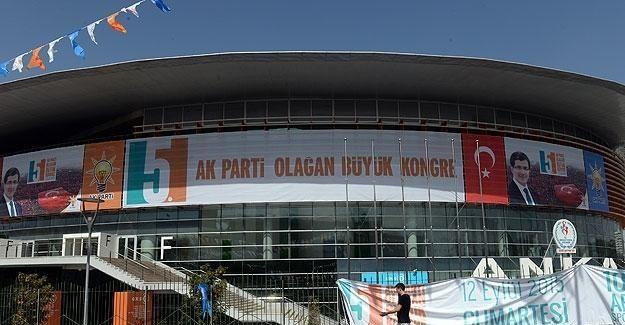 AK Parti 5. Olağan Büyük Kongresi yarın