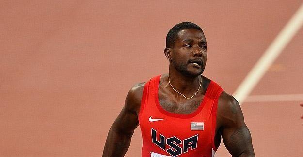 Elmas Lig'in 100 metre şampiyonu Gatlin