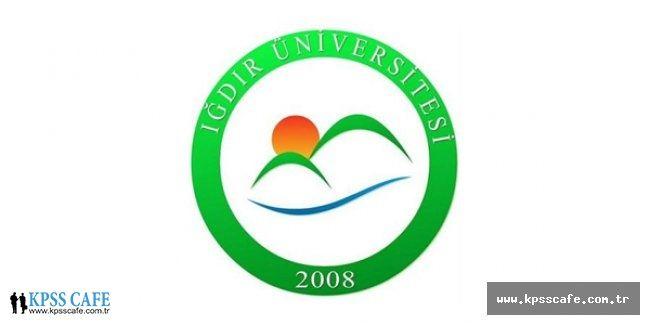 Iğdır Üniversitesi Öğretim Üyesi Alacak
