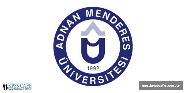 Adnan Menderes Üniversitesi Öğretim Üyesi Alacak