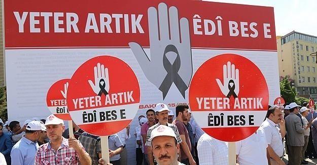 Diyarbakır'da STK'lardan PKK'ya 'silahları bırak' çağrısı