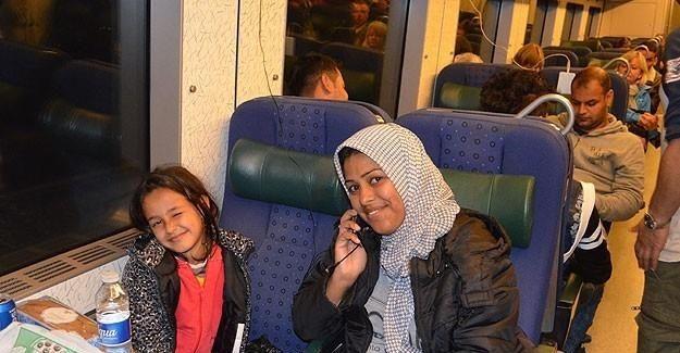 İsveç bir hafta içinde 5 bin 200 sığınmacı kabul etti