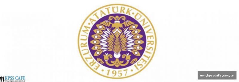 Atatürk Üniversitesi Öğretim Üyesi Alacak
