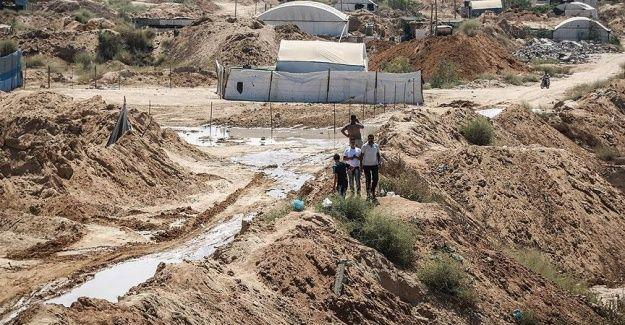 Mısır'ın pompaladığı su toprak kaymalarına neden oluyor