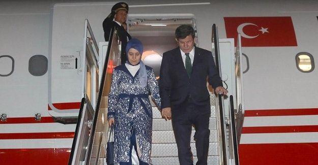 Başbakan Davutoğlu New York'ta