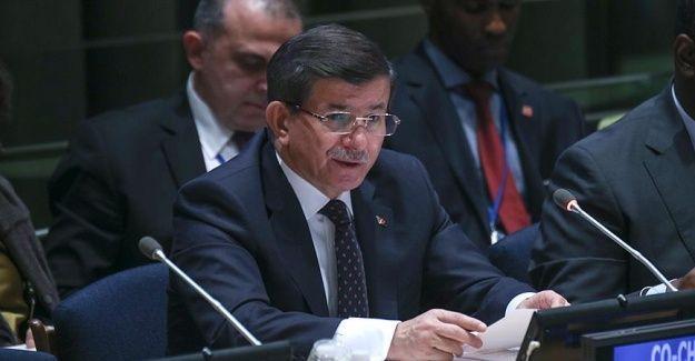 Başbakan Davutoğlu BM Kalkınma Zirvesi'nde