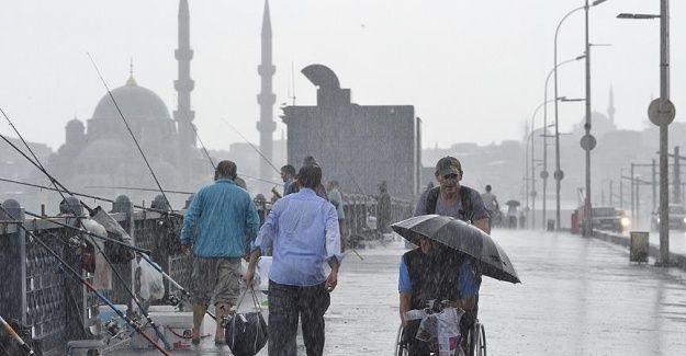 Marmara için 'şiddetli yağış' uyarısı