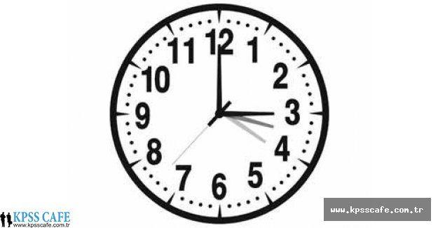 Saatler Ne Zaman Geri Alınacak? - Yaz Saati Uygulaması Ne Zaman Bitecek?