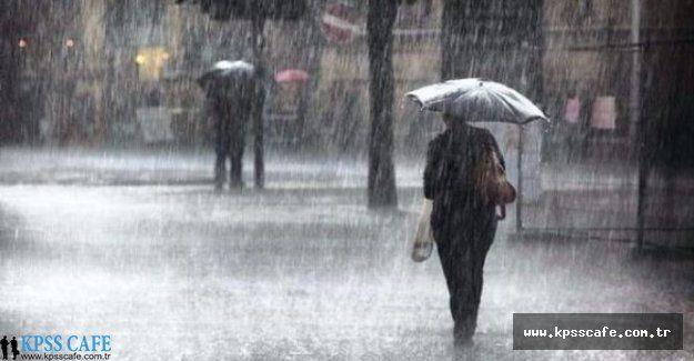 Bu İllerde Yaşayanlar Dikkat! Havalar Aşırı Yağışlı Olacak!