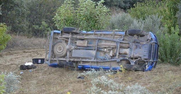 Edirne'de askeri araç devrildi 1 asker şehit oldu