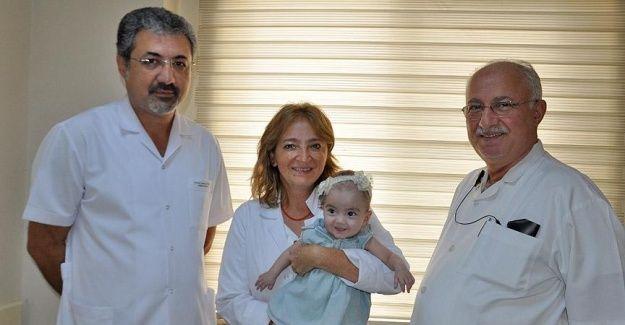 'Yaşaması mucize' denilen minik Alya herkesi şaşırttı