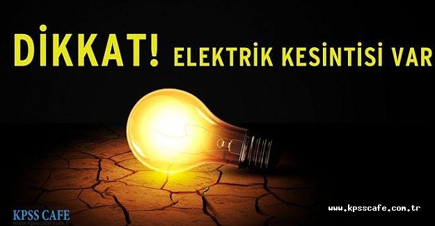 İstanbul'da 10 Ekim Elektrik Kesintisi Olacak İlçelerin Listesi