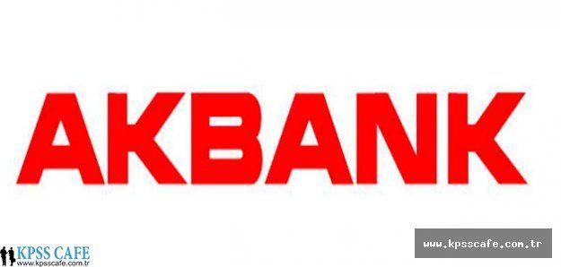 2015 Banka Personel Alımları - Akbank Eleman Alım İlanı