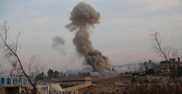 Rusya ÖSO karargahını vurdu