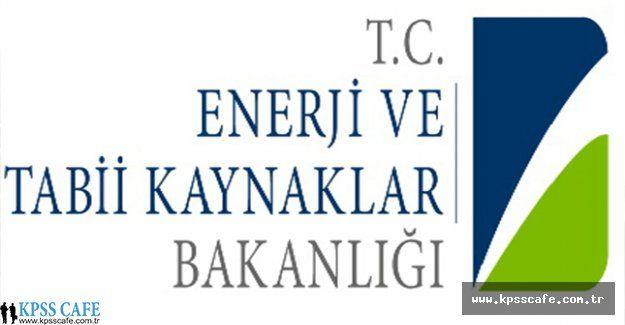 Enerji ve Tabii Kaynaklar Bakanlığı Hukuk Müşaviri ve Avukat Alımı