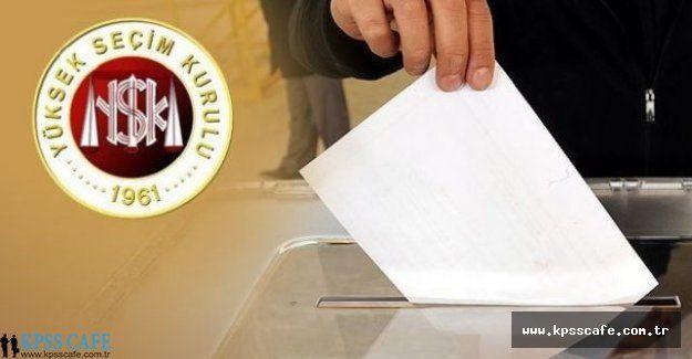 1 Kasım Seçimlerinde Görev Alanlar Ne Kadar Ücret Alacak?