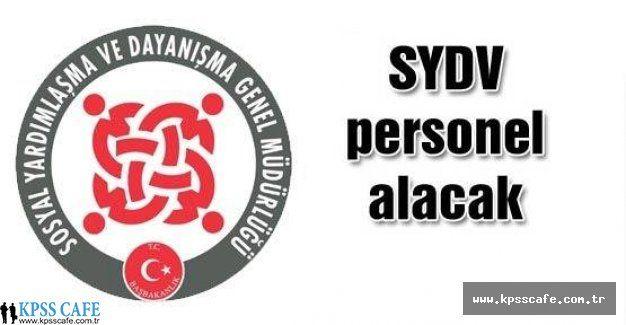 SYDV Hatay Arsuz Sözleşmeli Personel Alıyor!