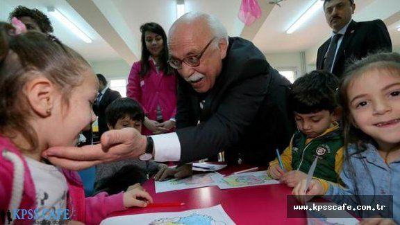 Milli Eğitim Bakanı Nabi Avcı Okul Açtı