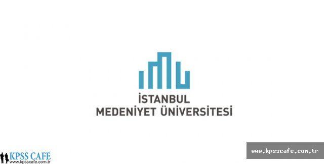 İstanbul Medeniyet Üniv. Öğretim Üyesi Alım İlanı