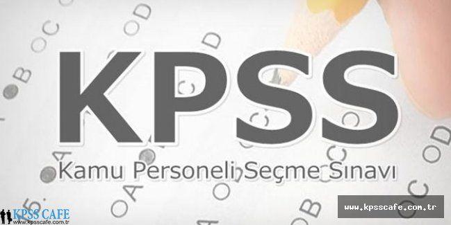 2016 Yılı KPSS Sınavında Hangi Türler Olacak?