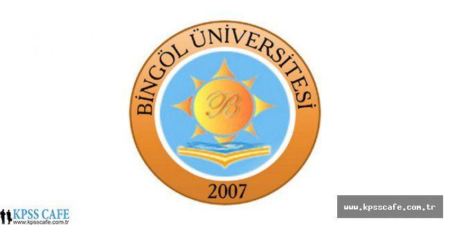 Bingöl Üniversitesi Öğretim Üyesi Alım İlanı