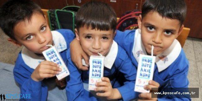 İhalesi Yapıldı! Okul Sütü Kaldığı Yerden Devam