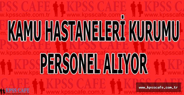Türkiye Kamu Hastaneleri Kurumu Sağlık Denetçi Yardımcısı Alacak