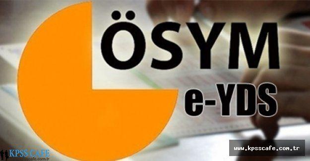 E-YDS 2015/11 Başvuruları Başladı!
