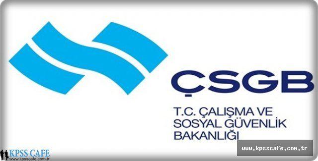 Çalışma ve Sosyal Güvenlik Bakanlığı Sözleşmeli Personel Alımında Bulunacak